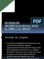 Diferencias Anatomofisiológicas Entre El Niño y El Adulto