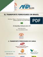 El Transporte Ferroviario en Brasil