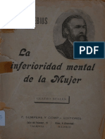 1900. La inferioridad mental de la mujer. Paul Julius Moebius.pdf