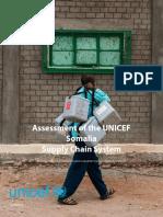 UNICEF Somalia Supply Chain Assessment Final Report