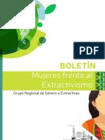 Boletín Mujeres frente al Extractivismo