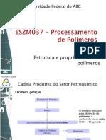 Aula 2 - Estrutura e Propriedades Dos PolÃ_meros