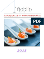 Cocktails Goblin Catering