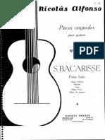 BACARISSE, Salvador - Petite Suite