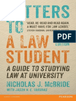 Letters to a Law Student.epub