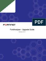 Fortianalyzer v6.0.1 Upgrade Guide