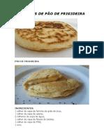 10 Opções de Pão de Frigideira