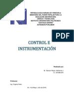 Control e Instrumentación