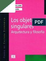 Arquitectura y filosofía. Jean Baudrillard, 2001.pdf