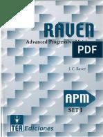 Raven. Cuaderno de Matrices. Escala APM.pdf