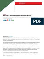 AMLO USARÁ EL IMPUESTO DE GASOLINAS COMO EL GOBIERNO ACTUAL
