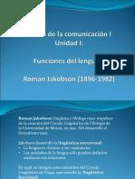 Funciones Del Lenguaje Roman Jakobson