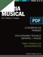 Libro de Teoria Musical - Nestor Crespo
