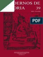 Cuadernos de Historia 39 (2014)