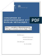 Rapport de Construction Métallique Phase 1 Vérsion Final Enregistré Automatiquement