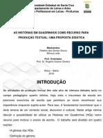 Hqs e Produção Textual