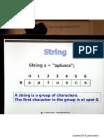 AP Java String