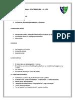 Programa de La Materia L 4