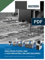 DATRON CNC-Machine Catalogue Prosp En