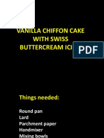 Swiss Buttercream Icing