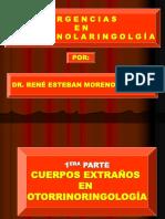 Urgencias en O.R.L.
