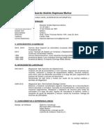 CV Eduardo Espinoza