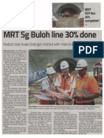 The Star - MRT Sg Buloh Line 30%25 Done