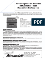 Manual Carregador PER IMAXB6AC80