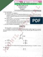 10th Mathematics - Sa2-Solved Sample Paper-55
