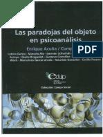 Enrique Acuña Paradojas Del Objeto en Psicoanálisis