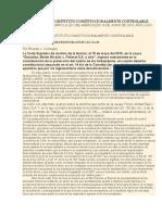 Doctrina El Salario Como Instituto Constitucionalmente Controlable
