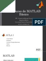 Minicurso MATLAB - 2017