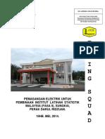 3. Dokumen Lfs Institut Latihan Statistik Malaysia (Fasa II), Sungkai, Perak
