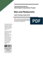 IRS - MSSP Restaurant and Bar ATG Final