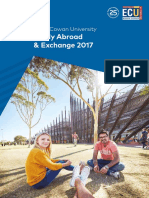 Study Abroad and Exchange 2017 Brochure