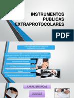 Instrumentos Publicas Extraprotocolares