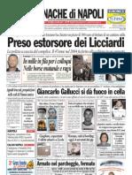 Cronache Di Napoli 23 Aprile 2010