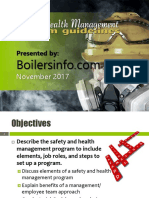 Managing Safety and Health