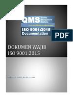 Dokumen Wajib ISO 9001 2015
