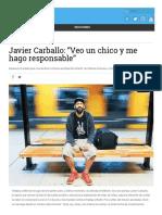Noticias Perfil Com 2018-06-11 Javier Carballo Veo Un Chico y Me Hago Responsable