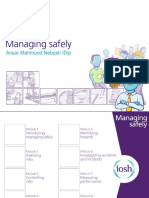 Managing Safely
