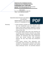SK Penetapan Indikator Mutu Dan Kinerja