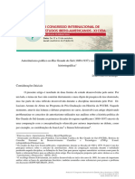 Autoritarismo político no Rio Grande do Sul (1889-1937