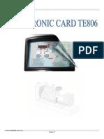 Panel de Control-te806 Ing