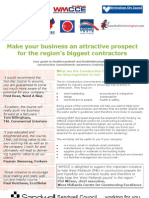 Construction Commitments Leaflet