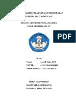 Laporan Akhir Pelaksanaan Pembekalan Peserta Plpg Tahun 2017