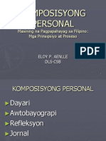 7. Komposisyong Personal
