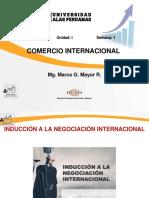 1. Inducción a La Negociación Internacional