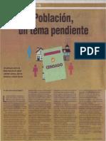 Población, un tema pendiente. Mario Gustavo Berrios Espezúa