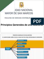 4.- Principios Generales de una Auditoría